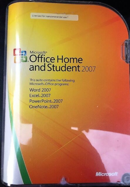 Microsoft Office Enterprise 2007 - Word Excel PowerPoint Outlook