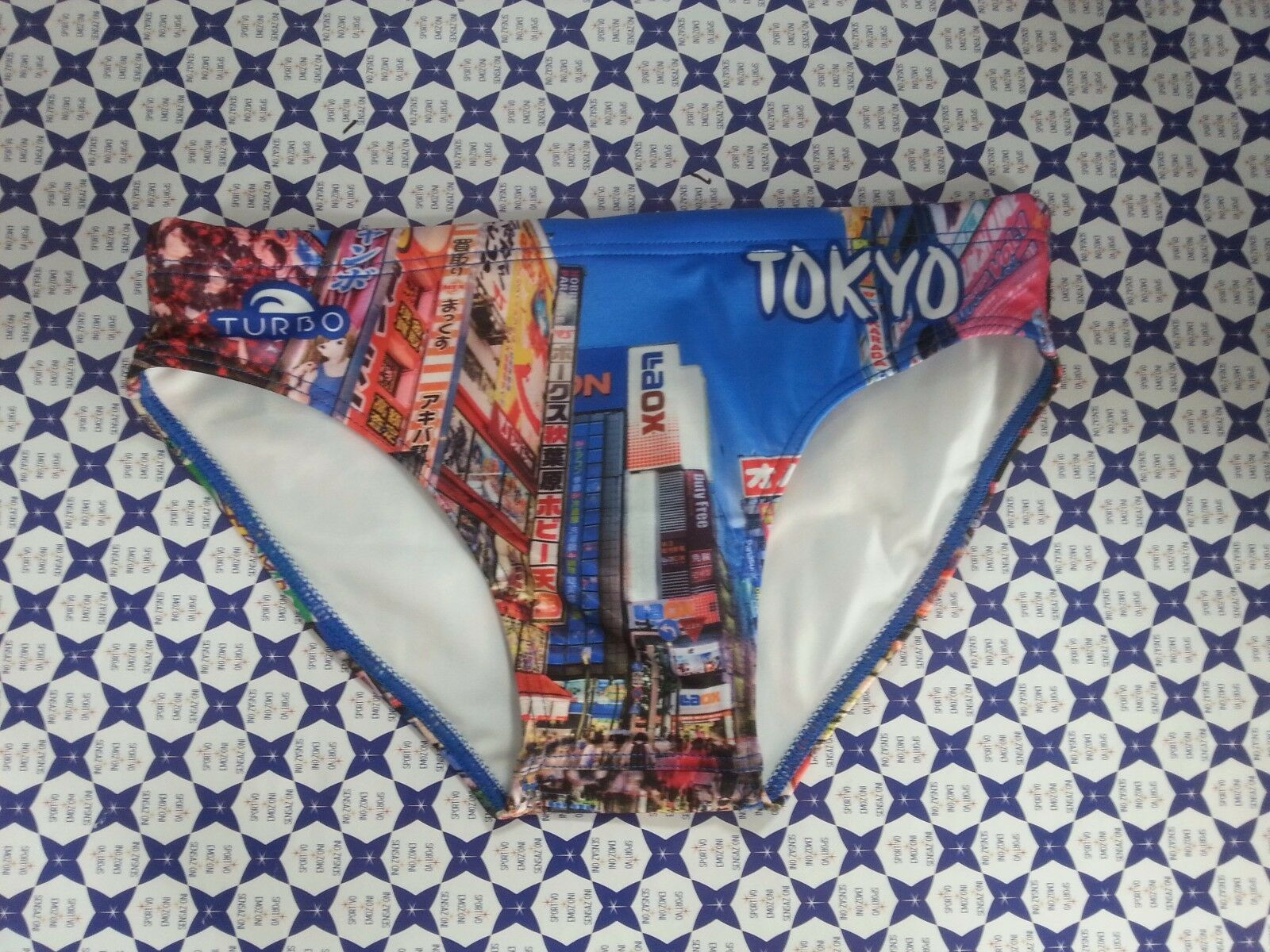 Costumi Piscina Turbo Costume Slip Turbo Tokyo City Mare Pallanuoto Piscina Pallanuoto