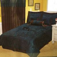 Western Embroidery Praying Cowboy Cross Comforter 7 Pc ...