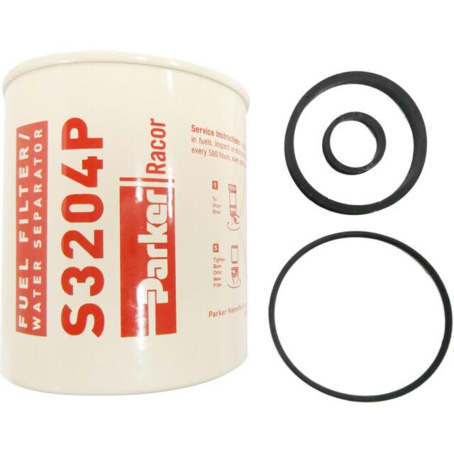 Racor 30 Micron Diesel Fuel Filter Element S3204P for sale online eBay