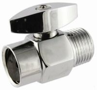 Shower Flow Control Valve showerhead water saver Chrome ...