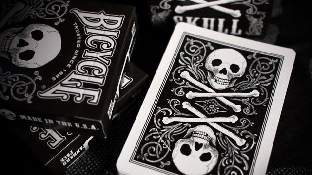 Bicycle Skull Deck Playing Cards Design for sale online eBay
