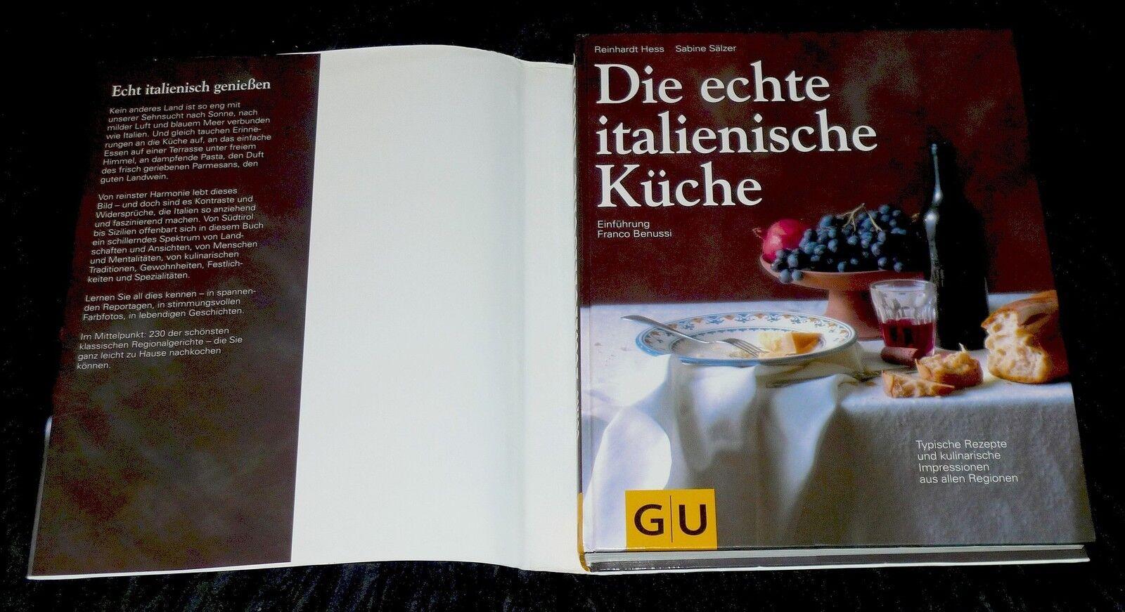 Die Echte Italienische Küche Buch