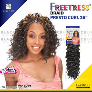 Freetress Presto Curl Crochet Braids