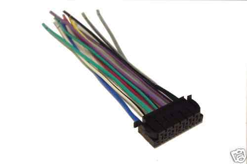 JVC Wiring Harness Car Stereo 13 Pin Wire Connector for sale online