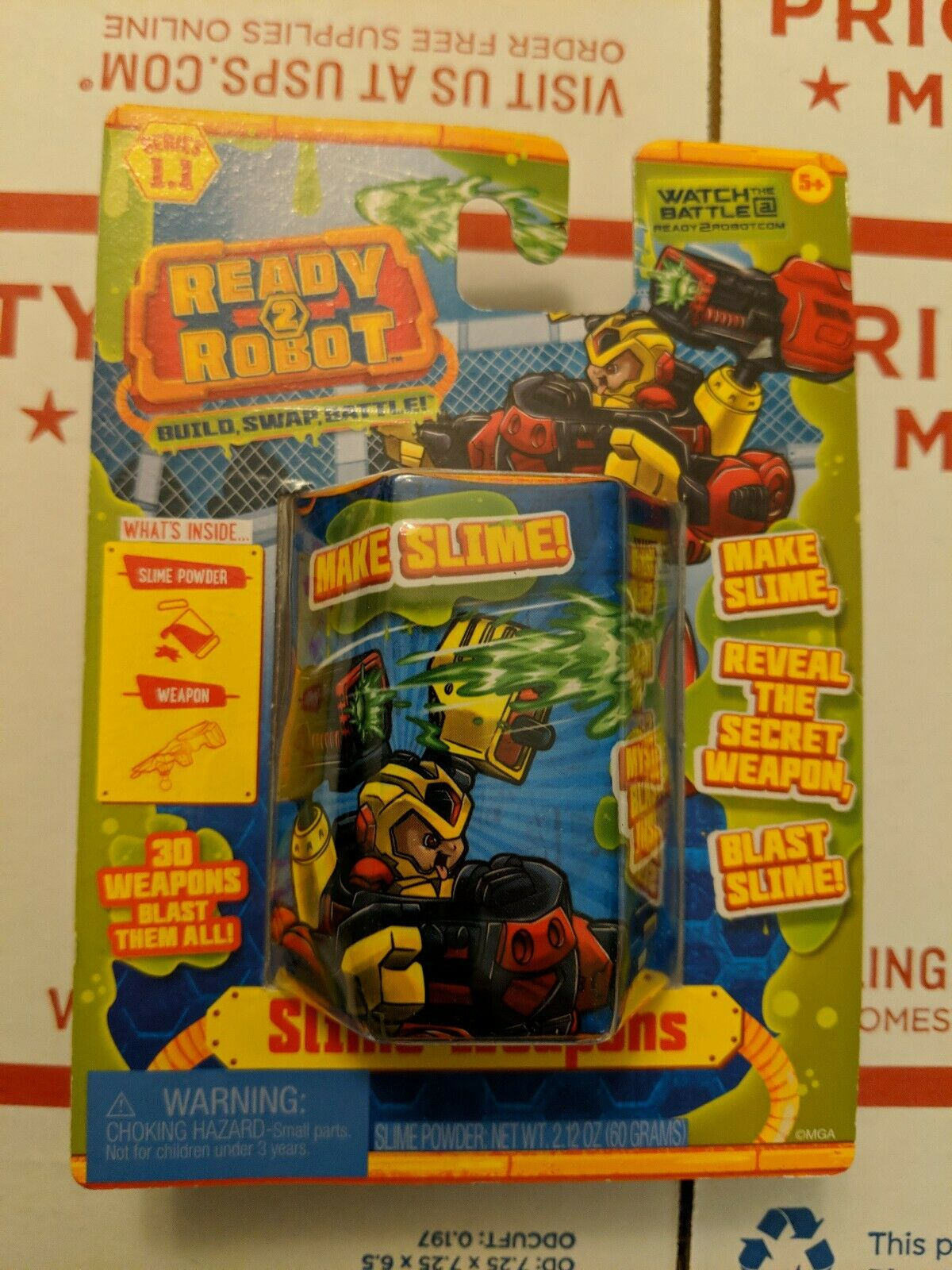 Spielzeug Ready 2 Robot Slime Weapons Series 1 1 Mystery Blaster Pack New Sealed Triadecont Com Br