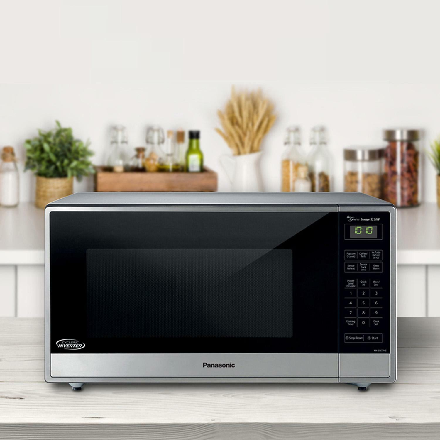 Panasonic Countertop Microwave Oven W Inverter Technology Model Nn Sn744sa For Sale Online