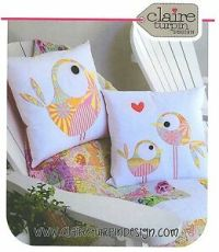 PIP AND ELLIE- Applique Sewing Craft PATTERN - Cushion ...