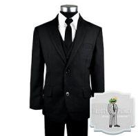 Kids Formal Wear Black Suit and Tie Includes Suit, Tie ...