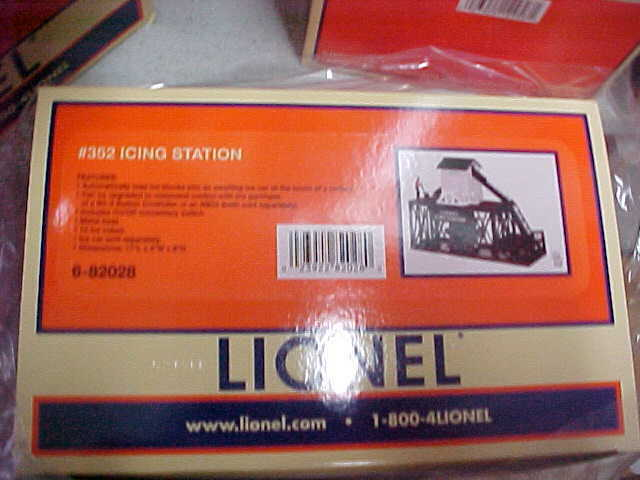 LIONEL PLUG IN ICING STATION ACCESSORY ,,,OPERATING nhkuoo5429-Other