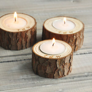 Personalized Candle Holders Natural Candle Holders