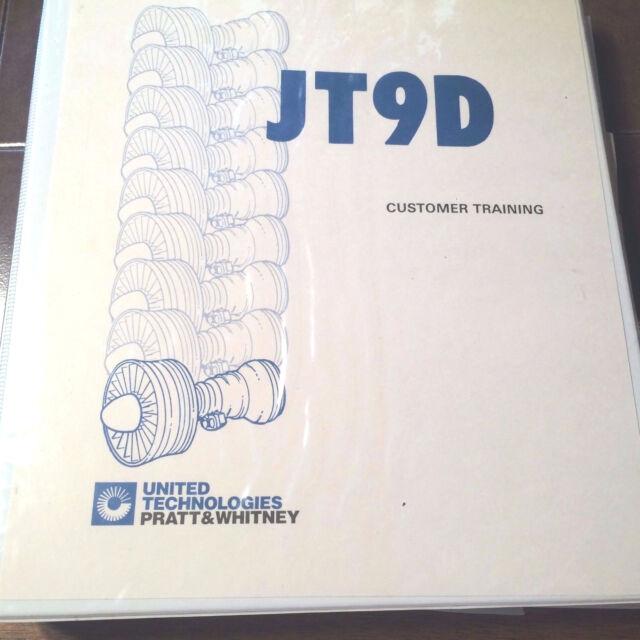 Pratt  Whitney Jt9d-7r4 Technical Training Manual eBay