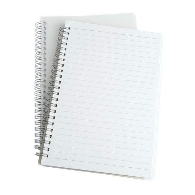 A5/a6 Spiral Coil Note Book Blank Page Paper Journal Diary Memo - blank diary page