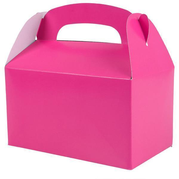 36 HOT PINK COLOR TREAT BOXES Birthday Party Loot Goody Bags #ST18