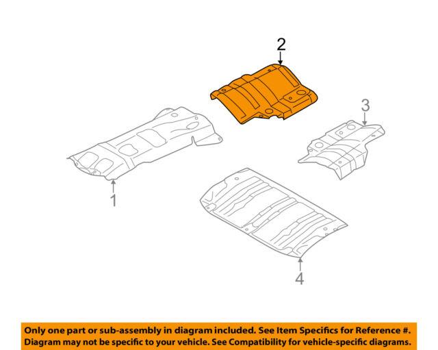 Buy Subaru OEM 09-13 Forester Heat Shields-exhaust-muffler Shield