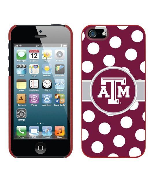 NEW Texas AM Aggies Polka Dot Case for iPhone 5/5S, Texas Pride