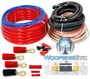 car amp wiring kit 6000 watt