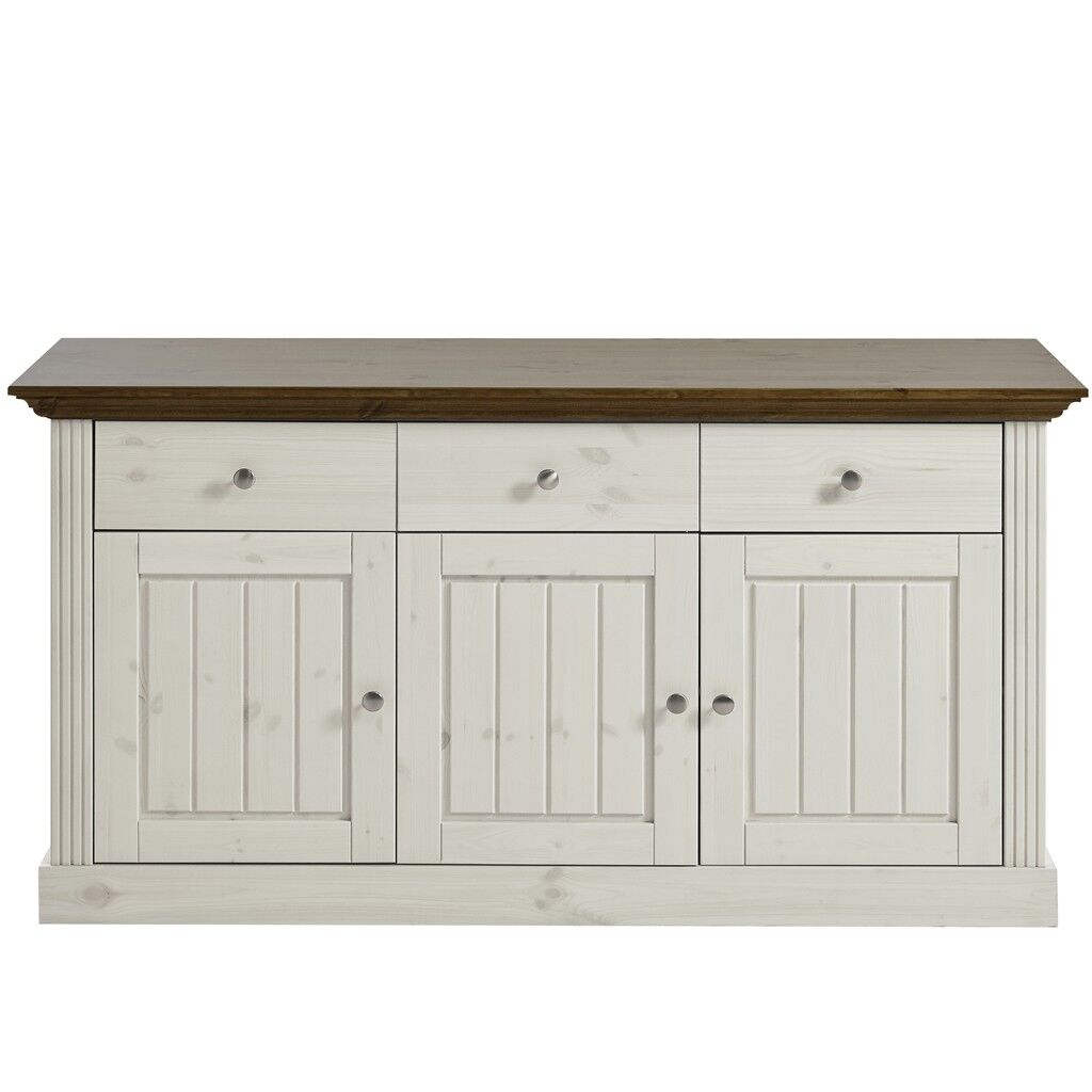 Sideboard Eiche Provence Steens Sideboard Monaco Weiß Provence