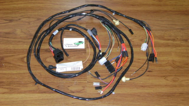 Forward Lamp Wiring Harness Made in USA 68 RS Camaro With Gauges V8