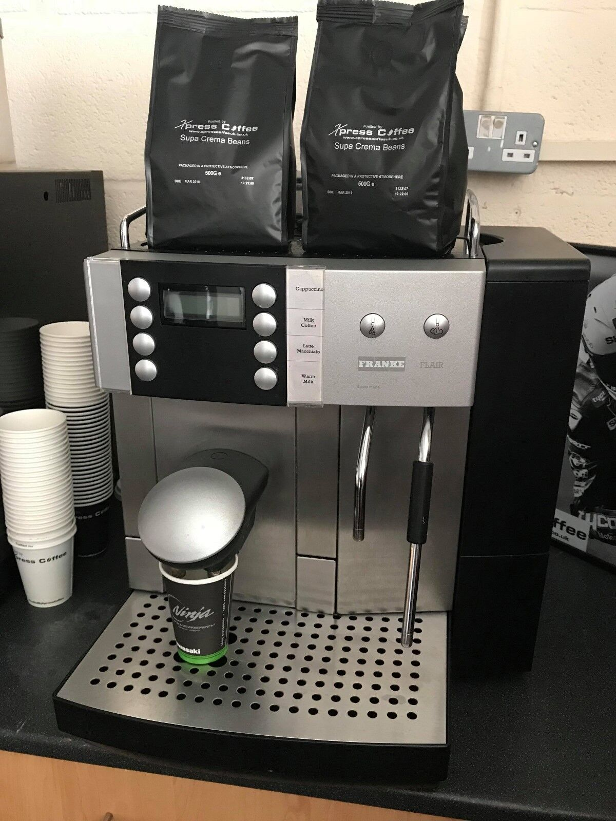 Franke Coffee Systems Franke Flair Bean To Cup Coffee Machine
