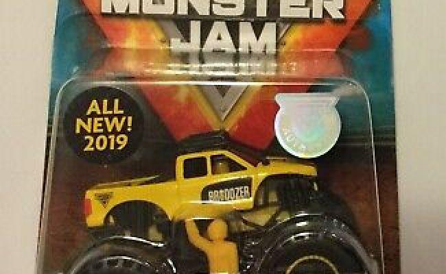 New 2019 Spin Master Monster Jam Authentic Brodozer