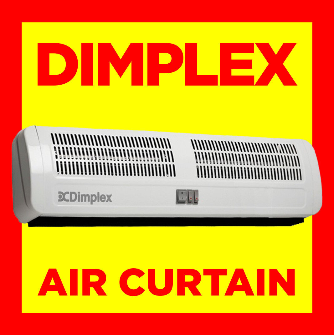 Curtain Heater Dimplex Ac6n 6kw Air Curtain Over Door Wall Fan Heater Indoor Warm