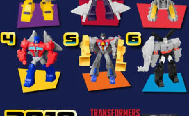 Mcdonald S Russia Toy Happy Meal 2019 Transformers
