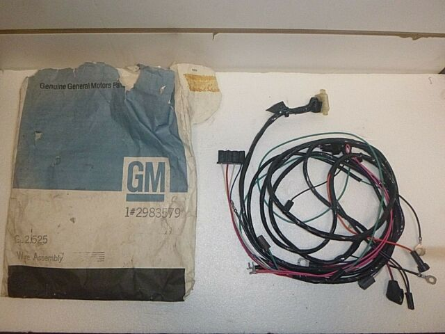 NOS 1964 1965 Corvette Engine Harness Wire Assembly GM 2983579 for