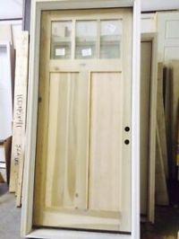 """42"""" x 96"""" Shaker Craftsman Entry Door"""