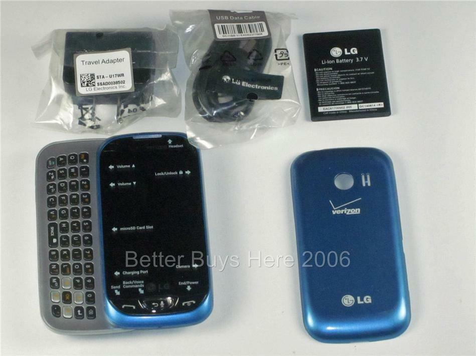 New post #LG Extravert 2 VN280 - Blue (Verizon) Cellular Phone - contract release form
