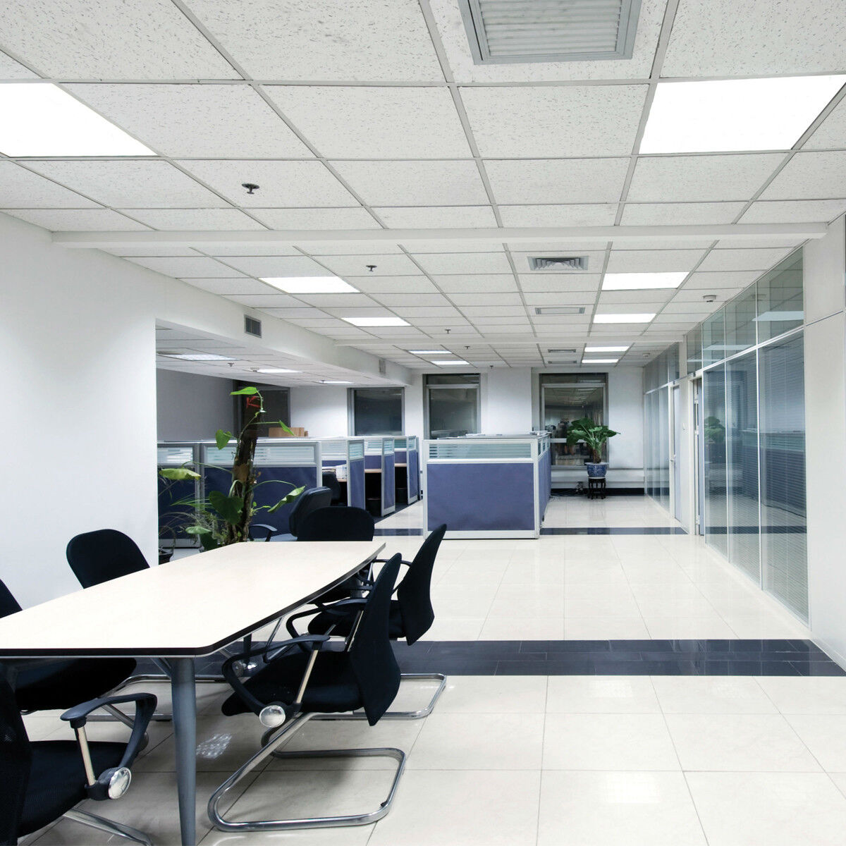 Office Lighting 48w Ceiling Suspended Recessed Led Panel White Light