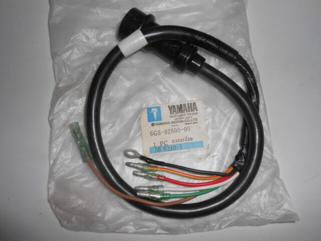 Yamaha Wiring Harness 6 G 8 82590 00 for sale online eBay