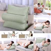 Bedrest Adjustable Pillow Back Support TV Reading Bed Rest ...