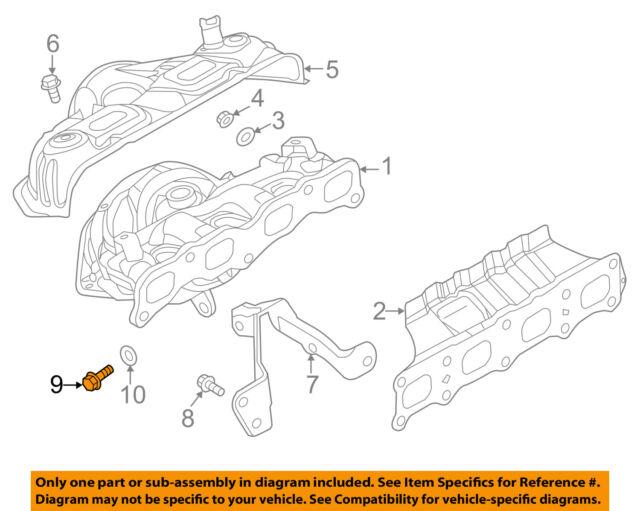 Genuine Mitsubishi Outlander Sport Support Bracket Bolt MD168601