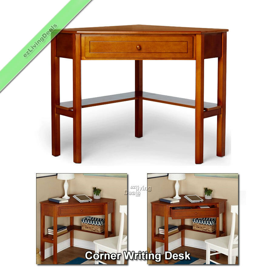 Corner Writing Desk Laptop Computer Table Home Office