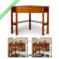 Corner Writing Desk Laptop Computer Table Home Office ...