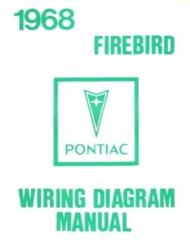 Pontiac 1968 Firebird Wiring Diagram 68 for sale online eBay