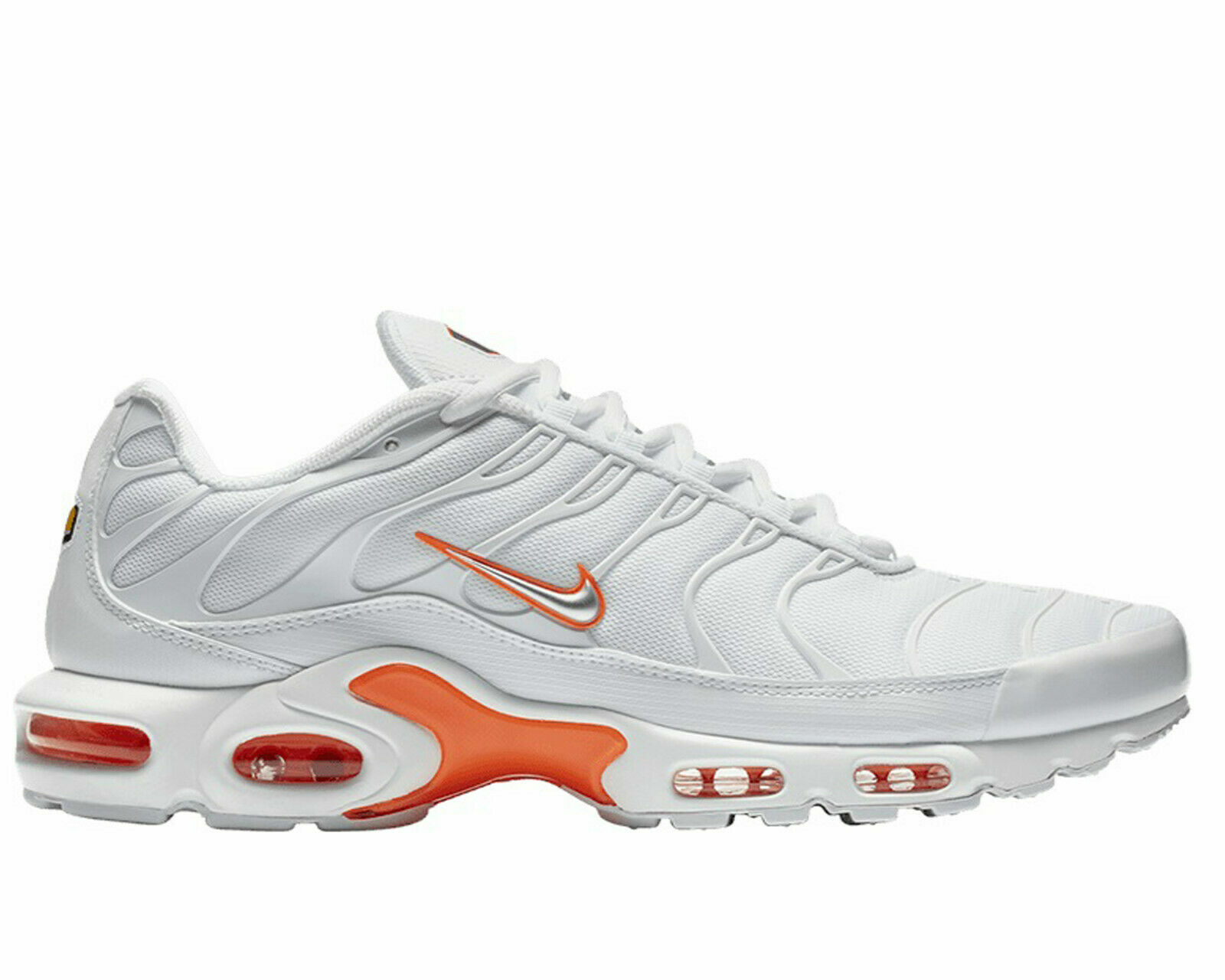 Air Max Classic Original Nike Air Max Plus Se Tuned 1 Tn Trainers White Silver Orange Ao9564 100