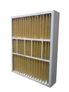 2 Filters 20x25x6 Merv 11 Furnace Air Conditioner Filter