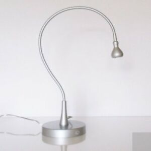 Ikea JansjÖ Matte Silver 24 Flexible Led Table Lamp Brand - Table Pliable Ikea