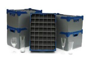 Glassware Storage Boxes For Champagne Glasses And Wine