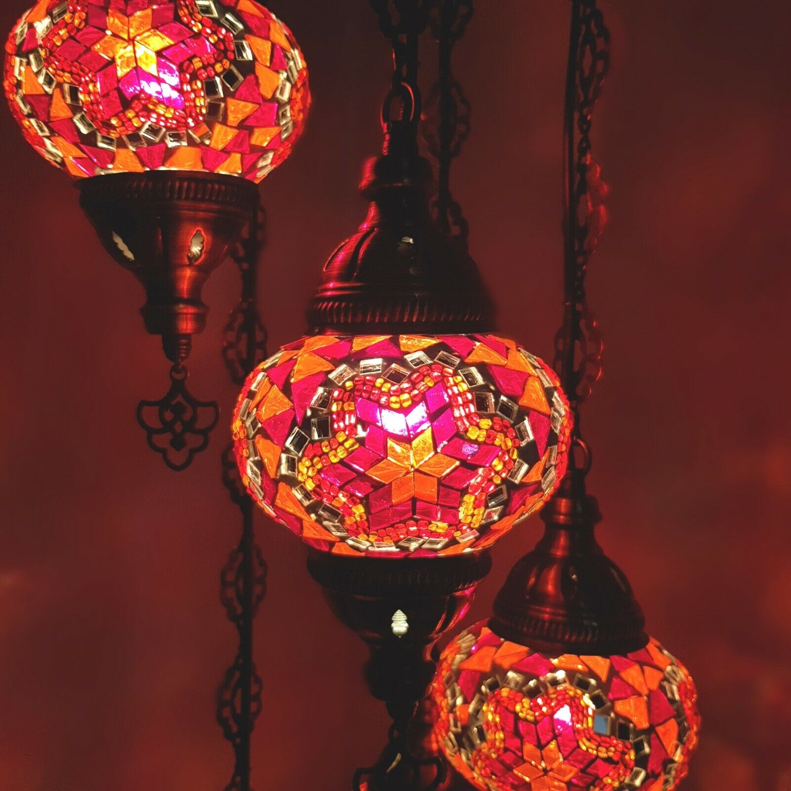 Glass Lamp Ceiling Details About Authentic Turkish Moroccan Glass Mosaic Hanging Lamp Ceiling Light Chandeliers