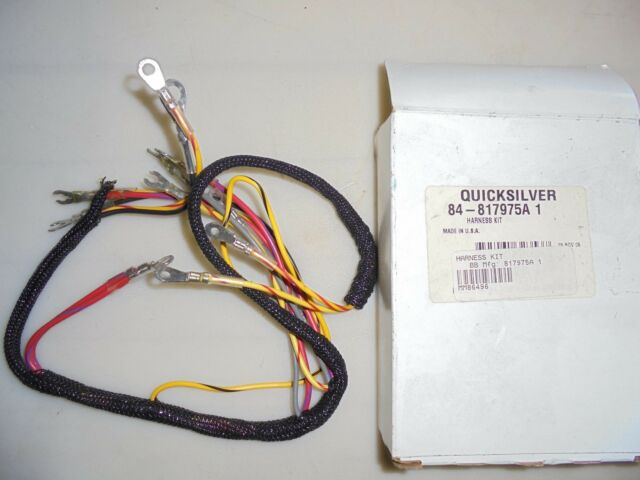 Mercury 84-817975a 1 Engine Wire Harness for Force OUTBOARD eBay