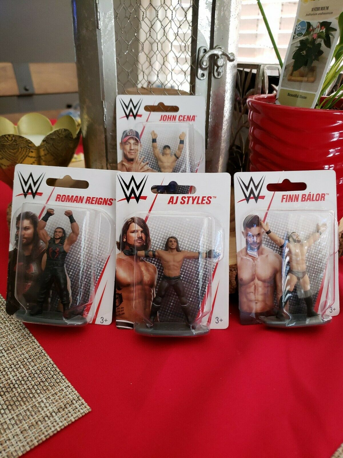 Wrestling Bettwäsche Wwe 4-sterne Roman Reigns John Cena Single-bettwäsche Steppdecke Set For Sale Online | Ebay