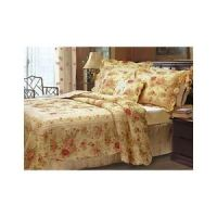 Full/Queen SHABBY Antique CHIC Floral Roses Cottage QUILT ...