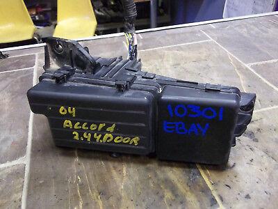 03 04 05 06 07 2003-2007 OEM HONDA ACCORD ENGINE FUSE BOX 24L EX EX