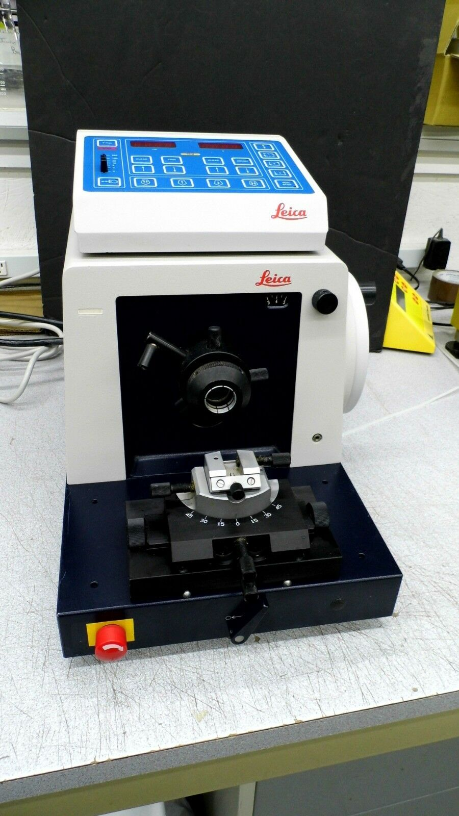 Jung Online Leica Model Jung Rm2065 Rotary Microtome With Controller