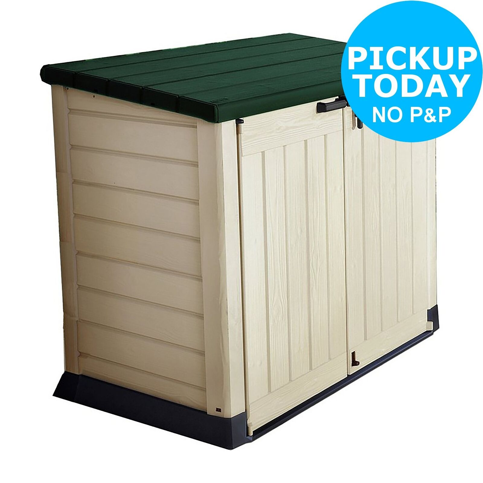 Keter Box Xxl Keter Store It Out Max 5x3 Plastic Garden Storage Shed Beige And Brown 17199416