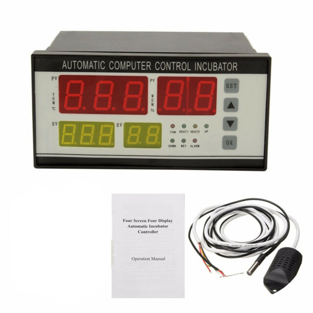 Digital Incubator Controller Temperature Humidity Control Automatic