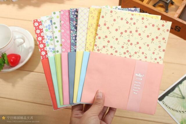 Cute Fancy Writing Stationery Paper Letter Set-32 Sheets 16 ENVELOP
